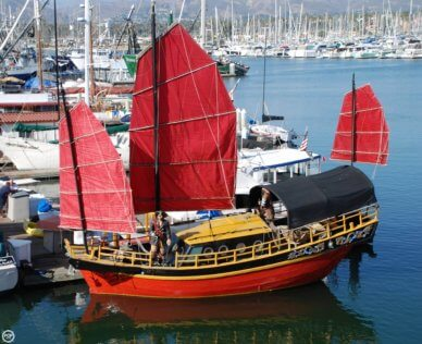 Chinese Junk 34, 33', for sale - $110,000