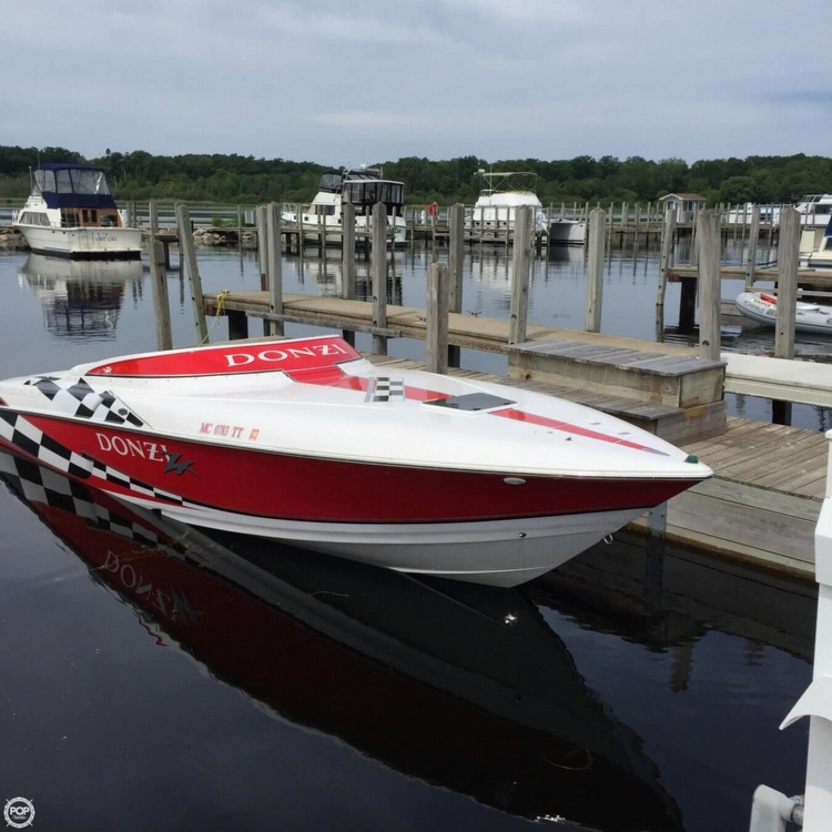 1998 Donzi 28 ZX For Sale