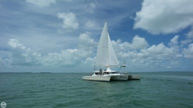 Wingsail 45 converted to Carbospars Aerorig, 45', for sale - $149,900