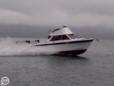 Uniflite 23 Sport Fisherman Flybridge, 23', for sale - $20,000