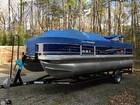 2014 Sun Tracker 20 DLX Fishin' Barge - #2