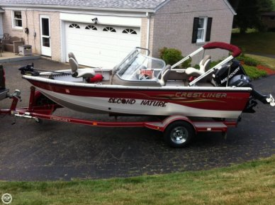 Crestliner 1650 Sport Angler, 16', for sale - $15,500
