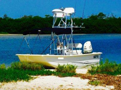 Carolina Skiff 2180 DLX, 20', for sale - $37,000