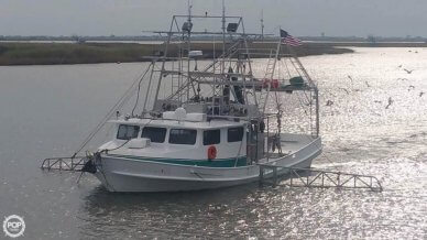 Lafitte 52 x 20 Shrimper Skimmer, 52', for sale - $275,000