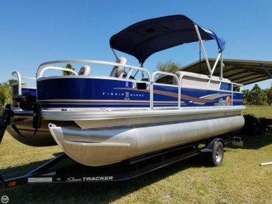 Sun Tracker Fishin Barge 20 DLX, 21', for sale - $16,000
