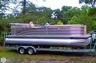 The Harris Cruiser 240 Tritoon  On Trailer