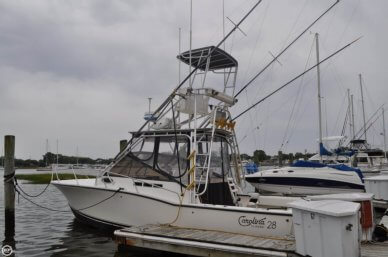 Carolina 28 Express Fisherman, 28', for sale - $83,400