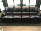 Leather Reclining Couch With Heated Seats