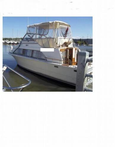 Carver 3396 Mariner, 32', for sale - $19,500