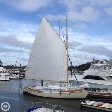 Custom Built Gaff Rigged Sloop, 35', for sale - $39,000