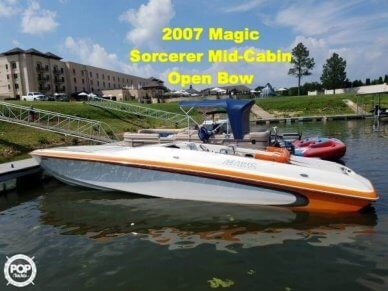 Magic Sorcerer Mid Cabin Open Bow, 34', for sale - $89,500