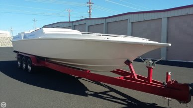 Fountain 33 Lightning, 33', for sale - $42,400