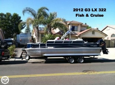 G3 Suncatcher LX 322 Fish & Cruise, 23', for sale