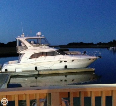 Sea Ray 480 Sedan Bridge, 51', for sale - $333,400