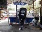 Power Pole & Mercury 250 Hp Optimax