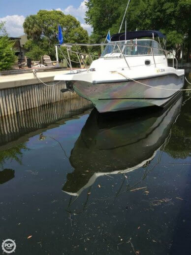Boston Whaler 255 conquest, 25', for sale - $34,000