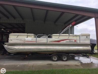 Sun Tracker 25 Party Barge, 26', for sale - $18,500
