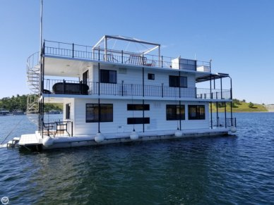 Custom 20 x 54 Lake McClure 2-story Houseboat, 54', for sale - $449,000
