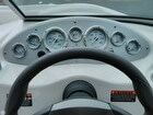 Helm With Steering Wheel And Gauges
