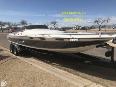 Hallett 270-T (7.9EXP), 27', for sale - $29,000