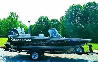 Crestliner 1750 Super Hawk Fish n' Ski, 17', for sale - $25,000