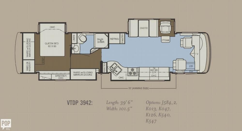 SOLD: Ventana 3942 Luxury Coach RV in Greeneville, TN   151785 on