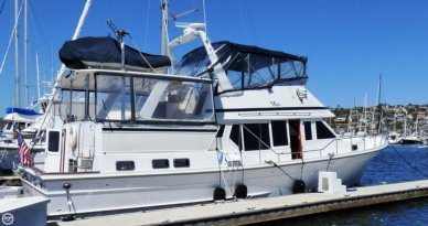 Voyager 50 Aft Cabin Yachtfisher, 49', for sale - $399,000