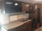 Kitchen, Stove, Microwave Double Sink