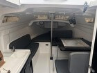 V Berth, Cushions, Dinette, Galley