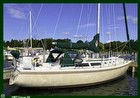 1987 CATALINA 34 TALL RIG, Dodger, Covers / Boots - Sail - Green Main Sail Cover