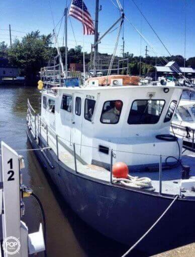 Martin 40 Dive Trawler, 40, for sale - $52,500