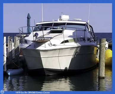 Sea Ray SRV360 Express Cruiser, 36', for sale - $31,200