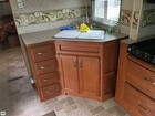 Double Kitchen Sink Cabinets
