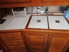 Double Sink All Wood Cabinets