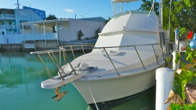 Bertram 33 Flybridge Cruiser, 35', for sale - $33,500