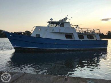 Custom Line Trawler 62 Long Range Cruiser, 65', for sale - $191,000
