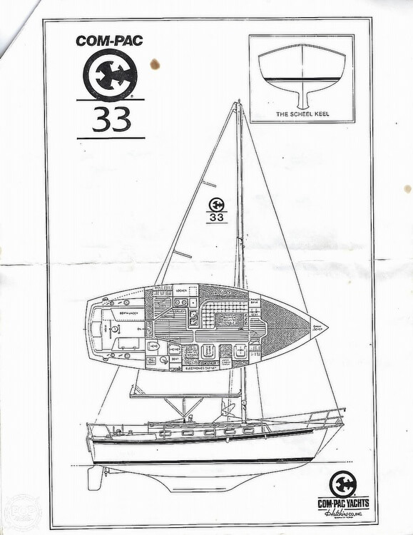 1990 Com-Pac 33 For Sale