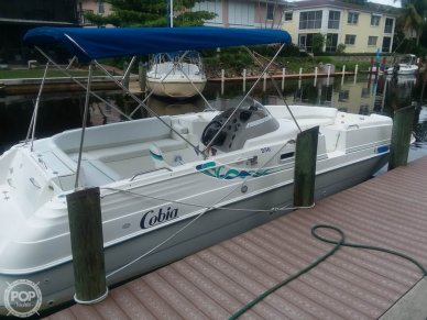 Cobia 256 DECK BOAT, 24', for sale - $17,250