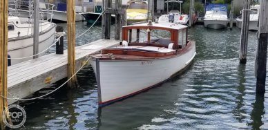 Consolidated Shipbuilding Launch, 27', for sale