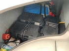Batteries Stored Behind Passenger Seat