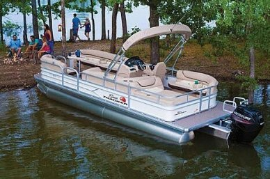 Sun Tracker 22 DLX Party Barge, 24', for sale - $29,500