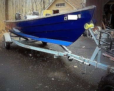 Holby Marine 17 Bristol Skiff, 17, for sale