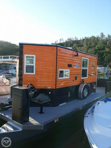 FS Houseboats Tiny Home Custom Houseboat, 32', for sale - $64,500