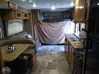 Cabover Bunk With Privacy Curtain And Child Safety Guard
