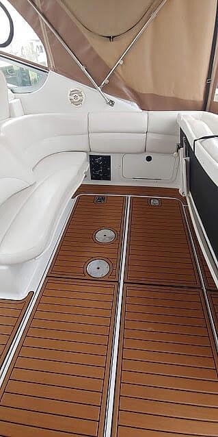 New Non-Skid Cockpit flooring