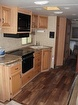 Kitchen W/3 Burner Gas/electric Stove