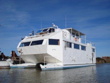 Custom Built Catamaran, 62', for sale - $160,000