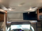 Cab Over Bed And TV