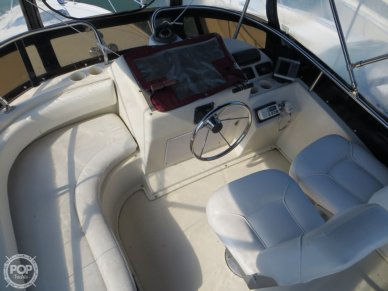 Enclosed Flybridge Helm, Passenger Bench Seat
