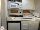 Galley Sink, Cabinets, Microwave, Fridge Freezer